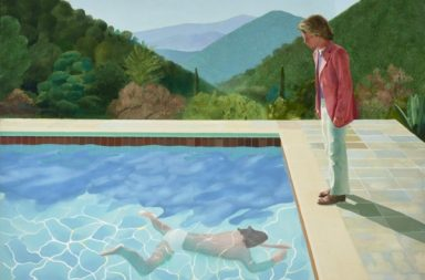 D. Hockney, Portrait of an artist (Pool with two figures),1971