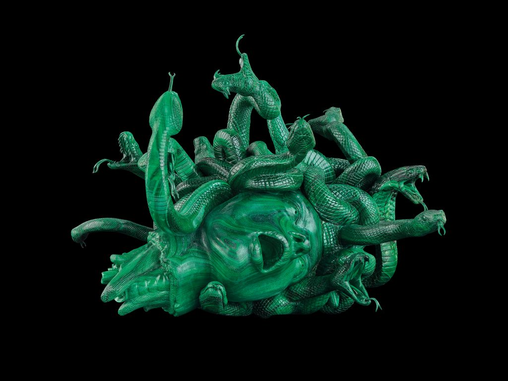 Damien Hirst, The Severed Head of Medusa  Image: Photographed by Prudence Cuming Associates © Damien Hirst and Science Ltd. All rights reserved, DACS/SIAE 2017.  Photographed by Christoph Gerigk.